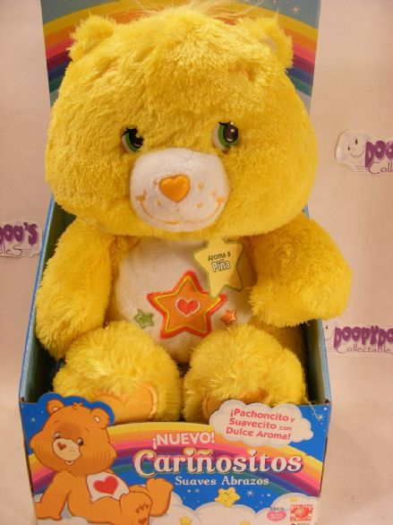 "BNIB 12"" SCENTED SUPER STAR CAREBEAR COMFY CARE BEARS"